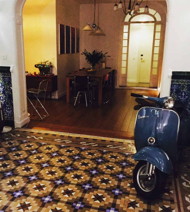 The Retrome hotel in Barcelona is retro in every detail!