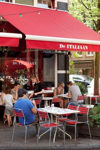 Pizza or a perfect pasta at De Italiaan