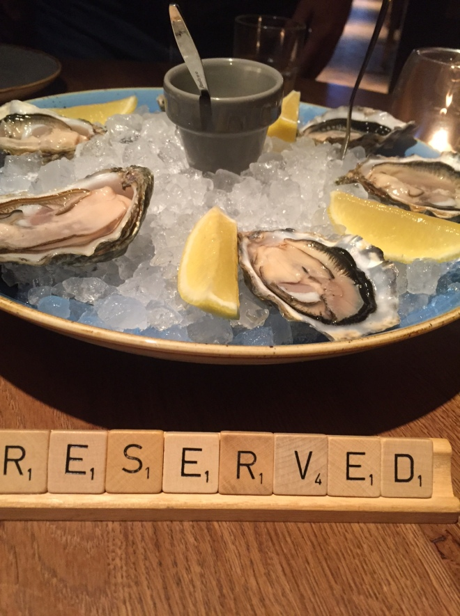 The oysters were top-notch and all plates are beautifully decorated. Simplicity is key, the food draws the attention.