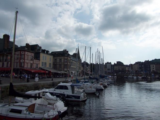 The harbour 'le Bassin' of Honfleur.